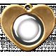 Charm Template 1b Gold
