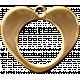 Charm 1b Gold