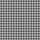 Oregonian Paper Argyle- Black & White