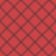 Oregonian Paper Argyle- Red & Black