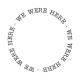 Oregonian Label- We Were Here