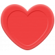 Panda Love Rubber Heart