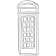 England Wire Telephone Booth