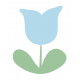 Confidence Tulip Blue 2