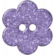 Vienna Plastic Flower- Purple
