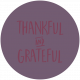 Thankful Harvest Word Circle Thankful Grateful