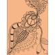 Crafty Evening Tangle Journal Card 02 3x4