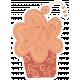 Crafty Element Sticker Tangle Cupcake