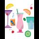 Fancy Drinks Journal Card 04 3x4
