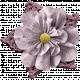 Bad Day- Elements- Mauve Flower