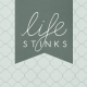 Bad Day- Journal Cards- Life Stinks 4x4