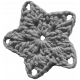 Crochet Flowers No.2- Templates- Flower 10