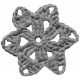 Crochet Flowers No.2- Templates- Flower 11