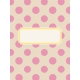 Baby On Board- Journal Cards 3x4- Polka Dots