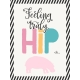 Baby On Board- Journal Cards 3x4- Feeling Hip