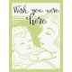 Baby On Board- Journal Cards 3x4- Wish You Were Here