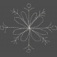 Winter Fun- Hand Drawn Snowflakes- Snowflake 1