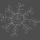 Winter Fun- Hand Drawn Snowflakes- Snowflake 5