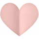 Spring Day - Elements - Folded Heart Soft Pink