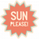 Spring Day- Elements- Word Art- Sun Please