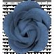 Winter Day- Elements- Flower Blue