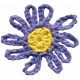 Raindrops & Rainbows- Minikit- Crochet Flower
