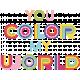 Raindrops & Rainbows - Minikit - Word Art - Color My World