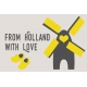 Destination Holland- Journal Cards-6 x 4 From Holland With Love