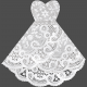 Bits & Bobs- Templates- Wedding Dress