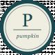 Pumpkin Spice- Minikit- Wordart- Pumpkin Circle