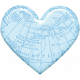 Love Knows No Borders- Minikit- Heart- Blue