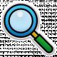 The Mad Scientist- Elements- Magnifier- Sticker