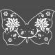 Butterflies- Butterfly 10- Filigrain