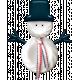 Good Life December - Minikit - Snowman 02