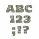Rustic Charm Alpha Kit- Green Wooden Alpha