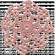 Jane- Pink Crochet Doiley