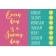 Summer Splash- Journal Cards- Every Day sunny Day