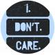 That Teenage Life- Elements- Tag- I Don't Care