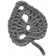 Crochet Flowers- Templates- Crochet07- Leaf