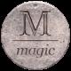 Create Something - Elements - Round Metal Tag Magic