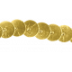Christmas Day elements- Gold Sequin Ribbon