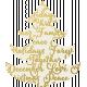 Christmas Day- Elements- Gold Vellum Tree