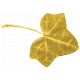 Christmas Day- Elements- Leaf 02- Gold