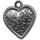 Heart Charms - Template - Heart 1