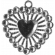 Heart Charms- Template- Heart 5