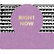 Back To Basics- Everyday Label 305