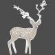 Winter Day Elements - Deer Glitter