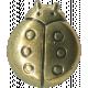 Buttons No.7- Ladybug