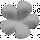 Flowers No.17 – Flower 13 Template