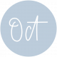 New Day Month Labels- Light Blue October